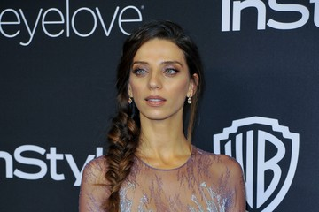 Angela Sarafyan Warner Bros. Pictures and InStyle Host 18th Annual Post-Golden Globes Party - Arrivals