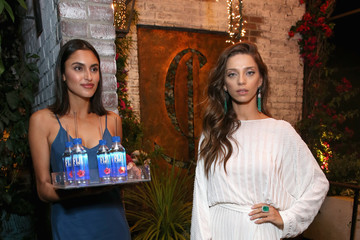 Angela Sarafyan FIJI Water at the Hollywood Foreign Press Association and InStyle's Celebration of the 2018 Golden Globe Awards Season