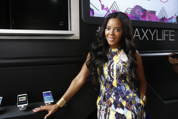 Angela Simmons Samsung At The 2015 ESSENCE Festival