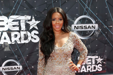 Angela Simmons Celebs Arrive at the 2015 BET Awards