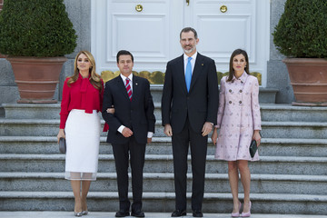 Angelica Rivera Spanish Royals Host A Lunch For President Of Mexico And His Wife