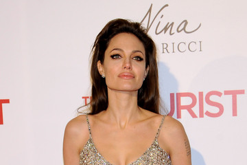 Angelina Jolie Angelina Jolie and Johnny Depp Attend 'The Tourist' Madrid Premiere