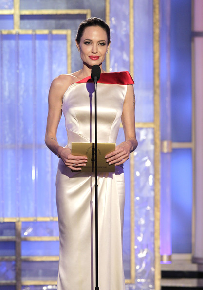 Angelina Jolie - 69th Annual Golden Globe Awards - Show