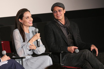 Angelina Jolie Brad Pitt The Academy of Motion Picture Arts and Sciences Hosts an Official Academy Screening of 'By the Sea'