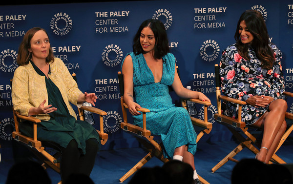 The Paley Center For Media's 2019 PaleyFest Fall TV Previews - Amazon - Inside [paleyfest fall tv previews - amazon - inside,event,performance,musical instrument,music,talent show,musician,stage,angelique cabral,rosa salazar,kate purdy,stage,l-r,the paley center for media,california,beverly hills,paley center for media]