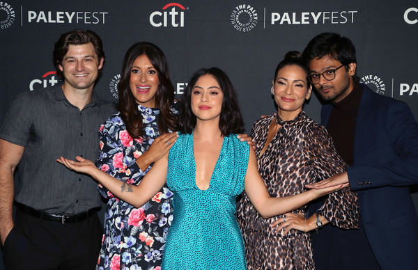 The Paley Center For Media's 2019 PaleyFest Fall TV Previews - Amazon - Arrivals [paleyfest fall tv previews,event,premiere,photography,leisure,party,performance,arrivals,constance marie,siddharth dhananjay,angelique cabral,kevin bigley,rosa salazar,l-r,paley center for media,amazon]