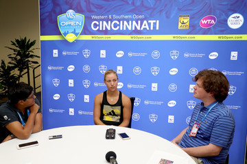 Angelique Kerber Western & Southern Open - Day 3