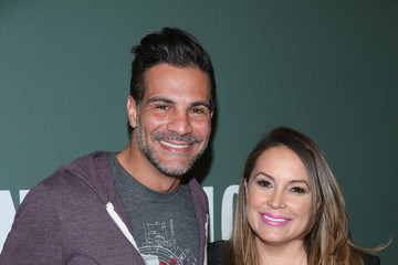 Angelo Sosa Angie Martinez and Angelo Sosa Sign Copies of Their Cookbook