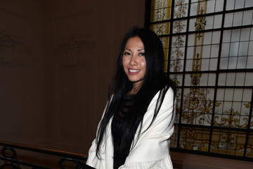 Anggun Jean Paul Gaultier : Front Row - Paris Fashion Week - Haute Couture Spring Summer 2016
