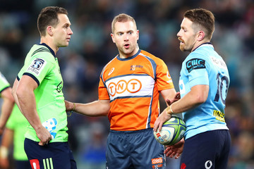 Angus Gardner Super Rugby Qualifying Final - Waratahs vs. Highlanders