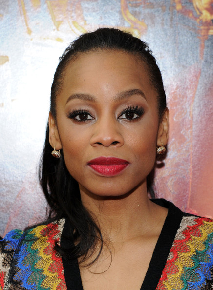 anika noni rose pictures belle premieres in nyc zimbio