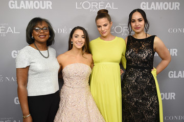 Anita Hill Glamour Celebrates 2017 Women Of The Year Awards - Backstage