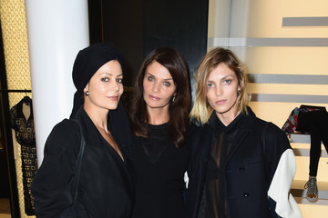 Anja Rubik CHANEL Cocktail Celebrates the Release of 'Hair by Sam McKnight'