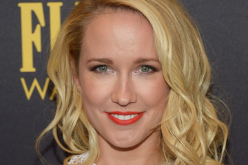 Anna Camp Hollywood Foreign Press Association And InStyle Celebrate The 2017 Golden Globe Award Season