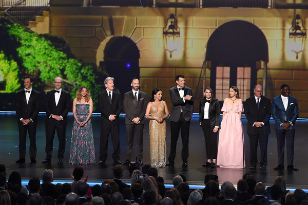 71st Emmy Awards - Show [event,ceremony,performance,crowd,emmy awards,show,reid scott,matt walsh,anna chlumsky,gary cole,julia louis-dreyfus,timothy simons,clea duvall,tony hale]