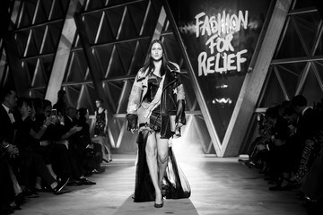 Anna Cleveland Fashion For Relief - Alternative View - The 70th Annual Cannes Film Festival