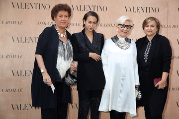Anna Fendi Valentino  - Arrivals - AltaRoma AltaModa Fashion Week Fall/Winter 2015/16