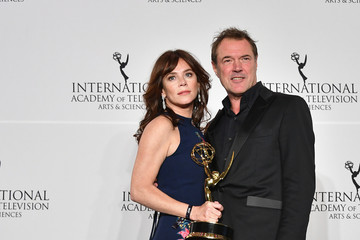 Anna Friel 45th International Emmy Awards - Press Room