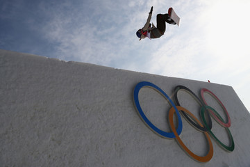 Anna Gasser Snowboard - Winter Olympics Day 10