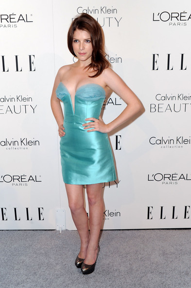 Anna Kendrick Actress Anna Kendrick arrives at ELLE's 17th Annual Women in Hollywood Tribute at The Four Seasons Hotel on October 18, 2010 in Beverly Hills, California.
