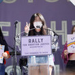 Anna Li Rally For Abortion Justic