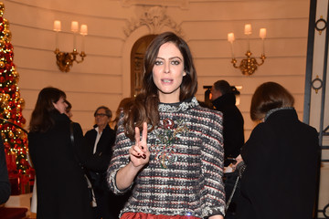 Anna Mouglalis 'Chanel Collection des Metiers d'Art 2016/17 : Paris Cosmopolite': Photocall At Hotel Ritz