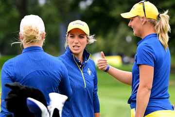 Anna Nordqvist The Solheim Cup - Preview Day 4