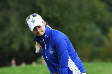 Anna Norqvist The Solheim Cup - Day Three
