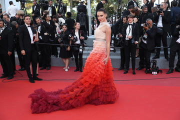Anna Schafer 'The Meyerowitz Stories' Red Carpet Arrivals - The 70th Annual Cannes Film Festival