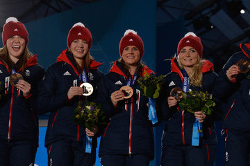 Anna Sloan Medal Ceremony - Winter Olympics Day 15