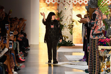 Anna Sui Anna Sui - Runway - September 2018 - New York Fashion Week: The Shows