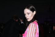 Coco Rocha attends the Anna Sui fashion show during February 2020 - New York Fashion Week: The Shows at Gallery I at Spring Studios on February 10, 2020 in New York City.