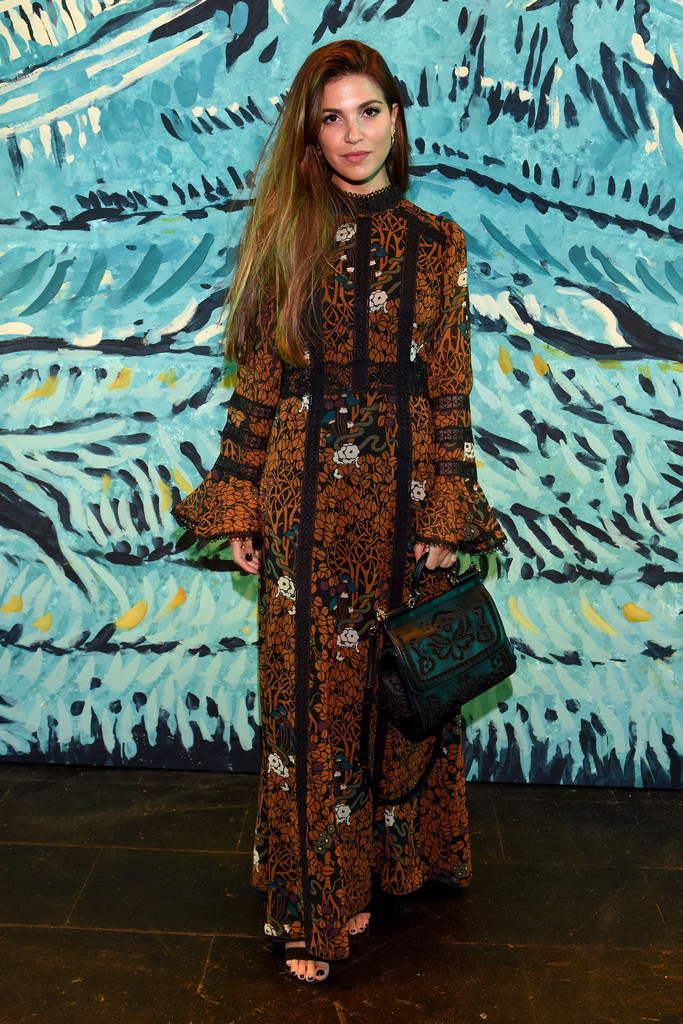 Anna Sui Front Row Spring 2016 New York Fashion Week