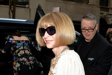 Anna Wintour The Mark Hotel Celebrates the 2016 Met Gala