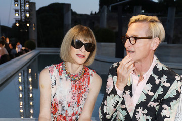 Anna Wintour Hamish Bowles Fendi Couture Fall Winter 2019/2020 - Cocktail