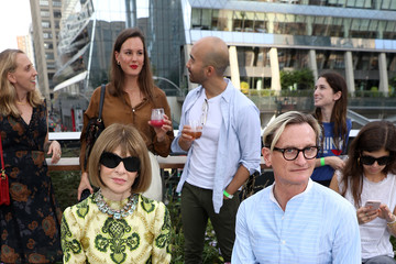 Anna Wintour Hamish Bowles Coach 1941 - Front Row - September 2019 - New York Fashion Week