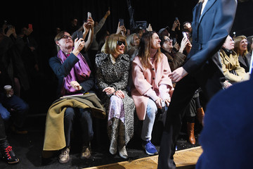 Anna Wintour Hamish Bowles Michael Kors Collection Fall 2019 Runway Show - Front Row