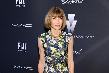 Anna Wintour FIJI Water At The Weinstein Company's Academy Awards Nominees Dinner In Partnership With Chopard, DeLeon Tequila, FIJI Water And MAC Cosmetics