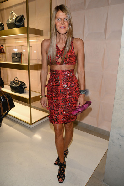 Anna dello Russo - 'Chloe Attitudes' Book Launch in Paris