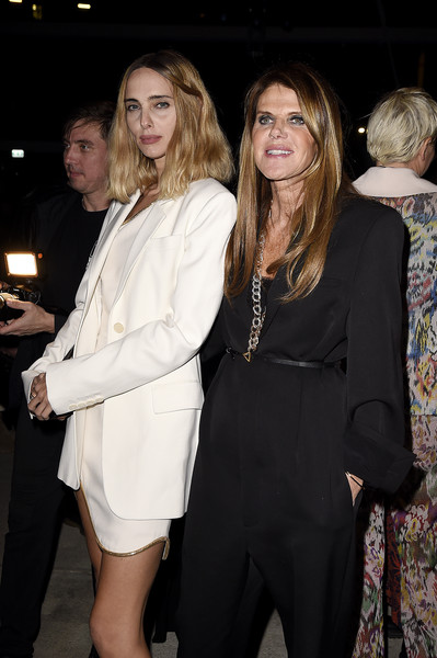 Missoni - Front Row - Milan Fashion Week Fall/Winter 2020-2021 [suit,fashion,blond,formal wear,event,dress,tuxedo,outerwear,leg,long hair,candela pelizza,anna dello russo,missoni - front row,milan,italy,missoni,milan fashion week,fashion show,allison cratchley,jessica capshaw,henry lau,henry poole is here,photography,actor,livingly media,celebrity,image,film screening]