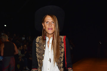 Anna dello Russo Dsquared2 - Front Row - Milan Collections Men SS16