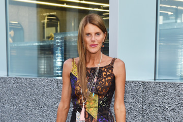 Anna dello Russo Guests Attend the Prada Cocktail Party at Milan Collections Men SS16