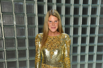 Anna dello Russo Marc Jacobs Spring 2019 Runway - Front Row