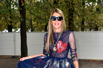 Anna dello Russo Arrivals at Valentino