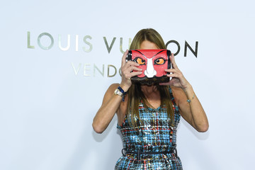 Anna dello Russo Louis Vuitton's Boutique Opening At Place Vendome - Paris Fashion Week Womenswear Spring/Summer 2018