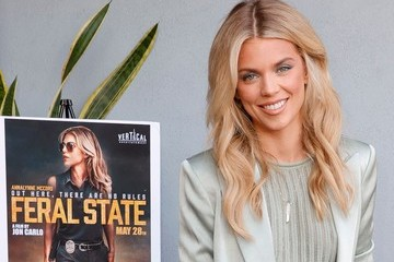 """AnnaLynne McCord Los Angeles Premiere Of """"Feral State"""" - Arrivals"""