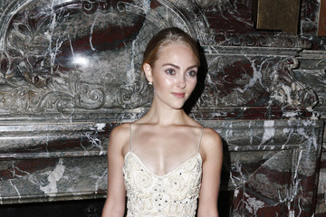 AnnaSophia Robb Marchesa - Front Row - Spring 2016 New York Fashion Week
