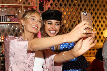 Annabelle Fleur Victoria's Secret Hosts Ultimate Girls Night in With Angels Josephine Skriver and Romee Strijd