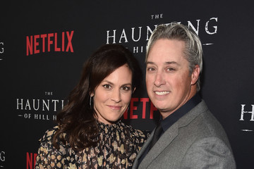 Annabeth Gish Wade Allen Netflix's 'The Haunting of Hill House' Season 1 Premiere - Red Carpet