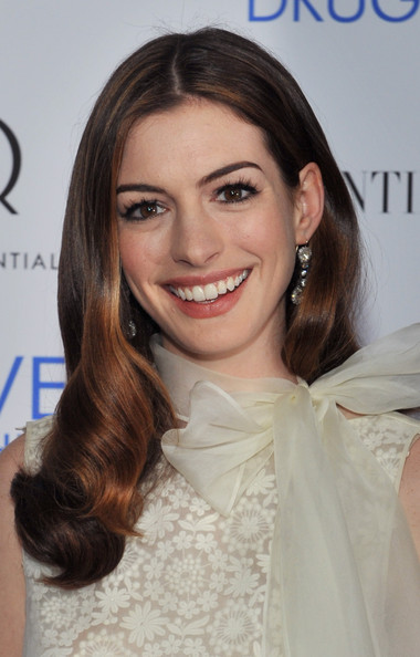 "Actress Anne Hathaway attends a screening of ""Love & Other Drugs"" at DGA"